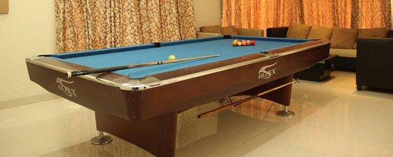 Recreational facility at Anatta Rehab Centre Pune