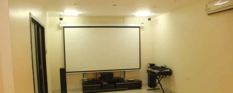 Media & Meditation Room at Anatta Rehab Centre Pune