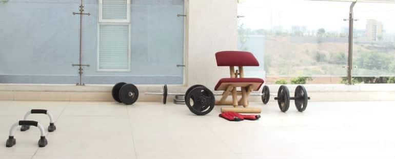 Workout space @ Anatta Rehab Pune