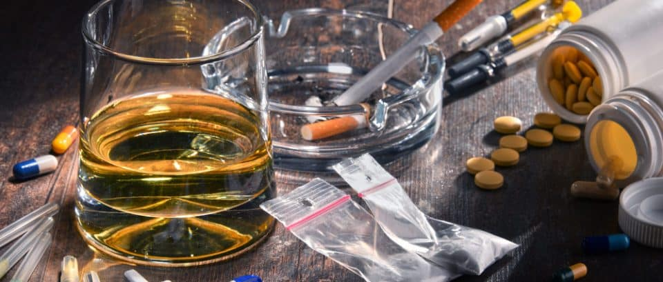 History of Addictive Substances