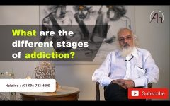 What are  the different stages of addiction?